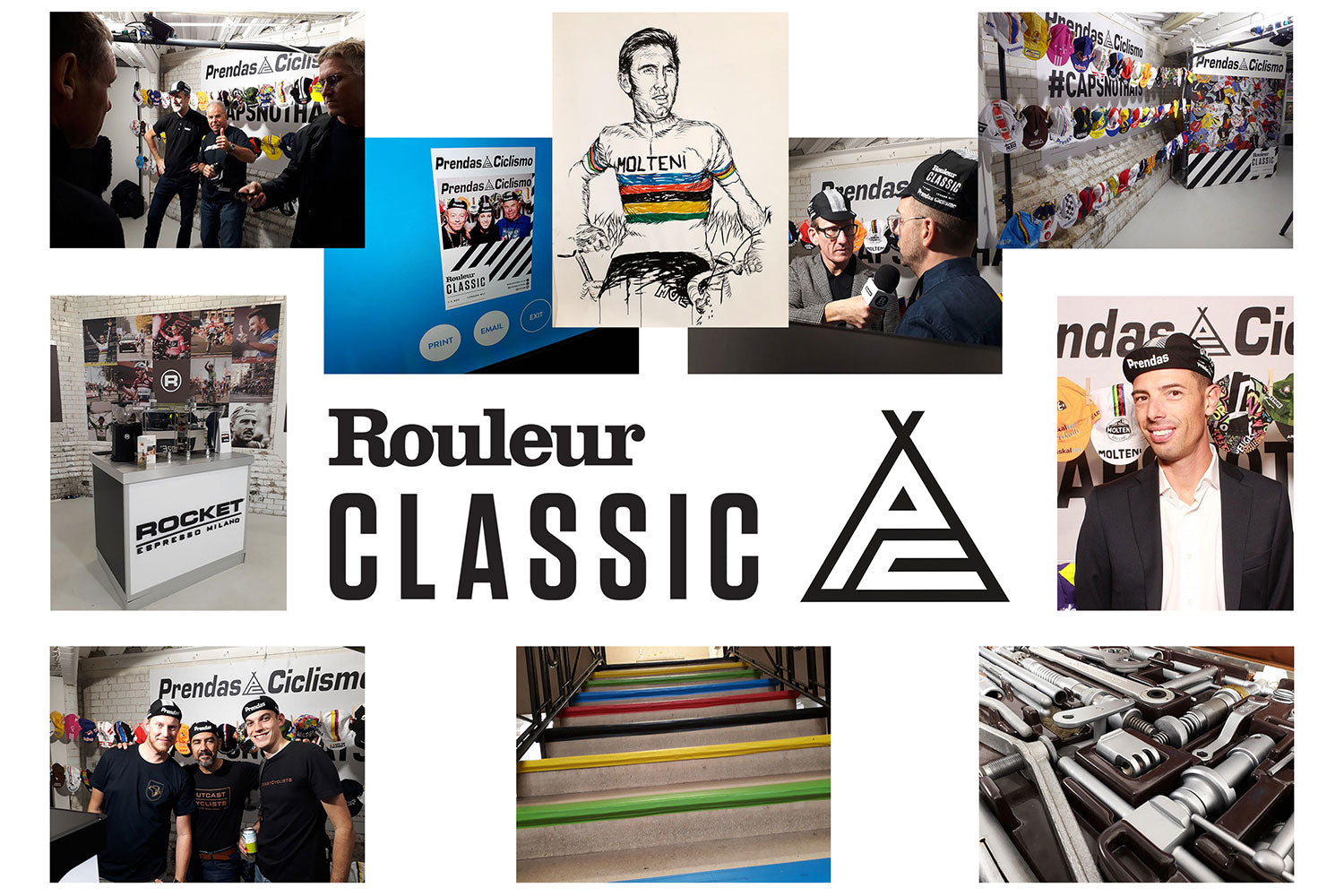 Bringing the Prendas cycling caps to the 2018 Rouleur Classic