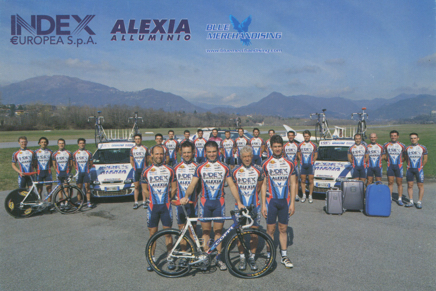 Index Alexia Alluminio Cycling Team