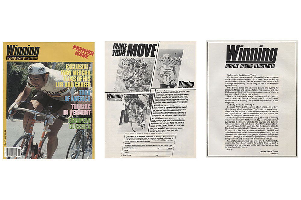 Winning Bicycle Racing Illustrated Magazine - A look back at this ... 731031d92