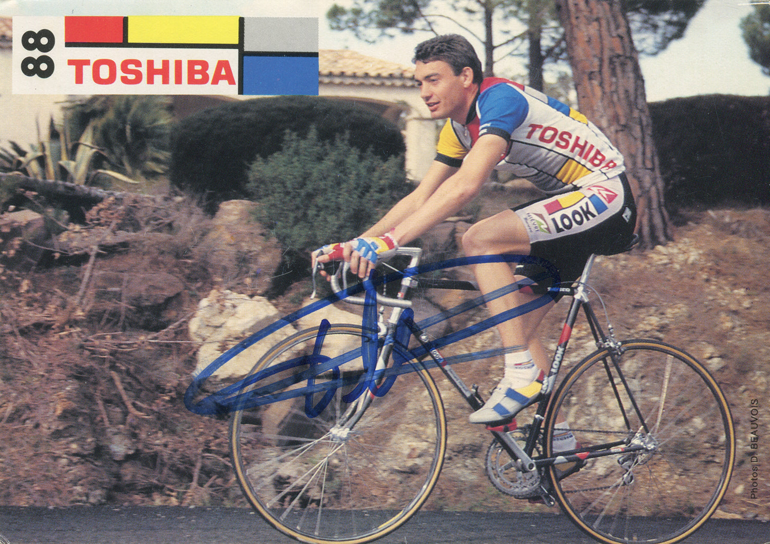 Fabrice Philipot joined the Toshiba Cycling Team in 1988 after 16 victories the previous three seasons.  He went onto win the young rider competition at the 1989 Tour de France.