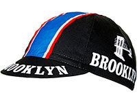 Best cycling caps: 6) Brooklyn Retro Black Cycling Cap