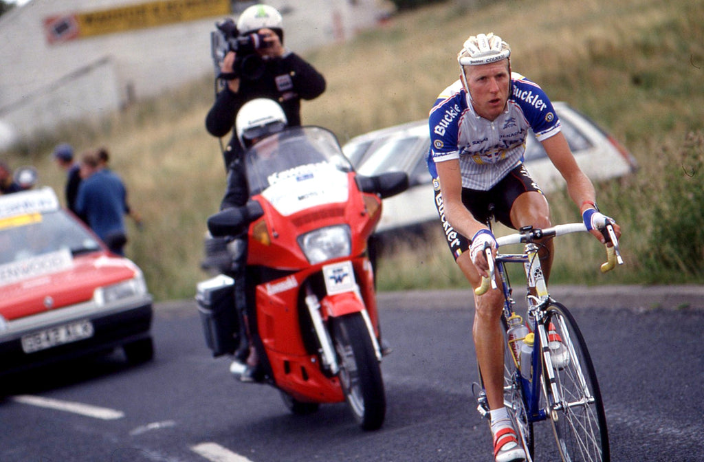 Dave Rayner (Buckley Team) taking part in the 1992 Leeds Classic.
