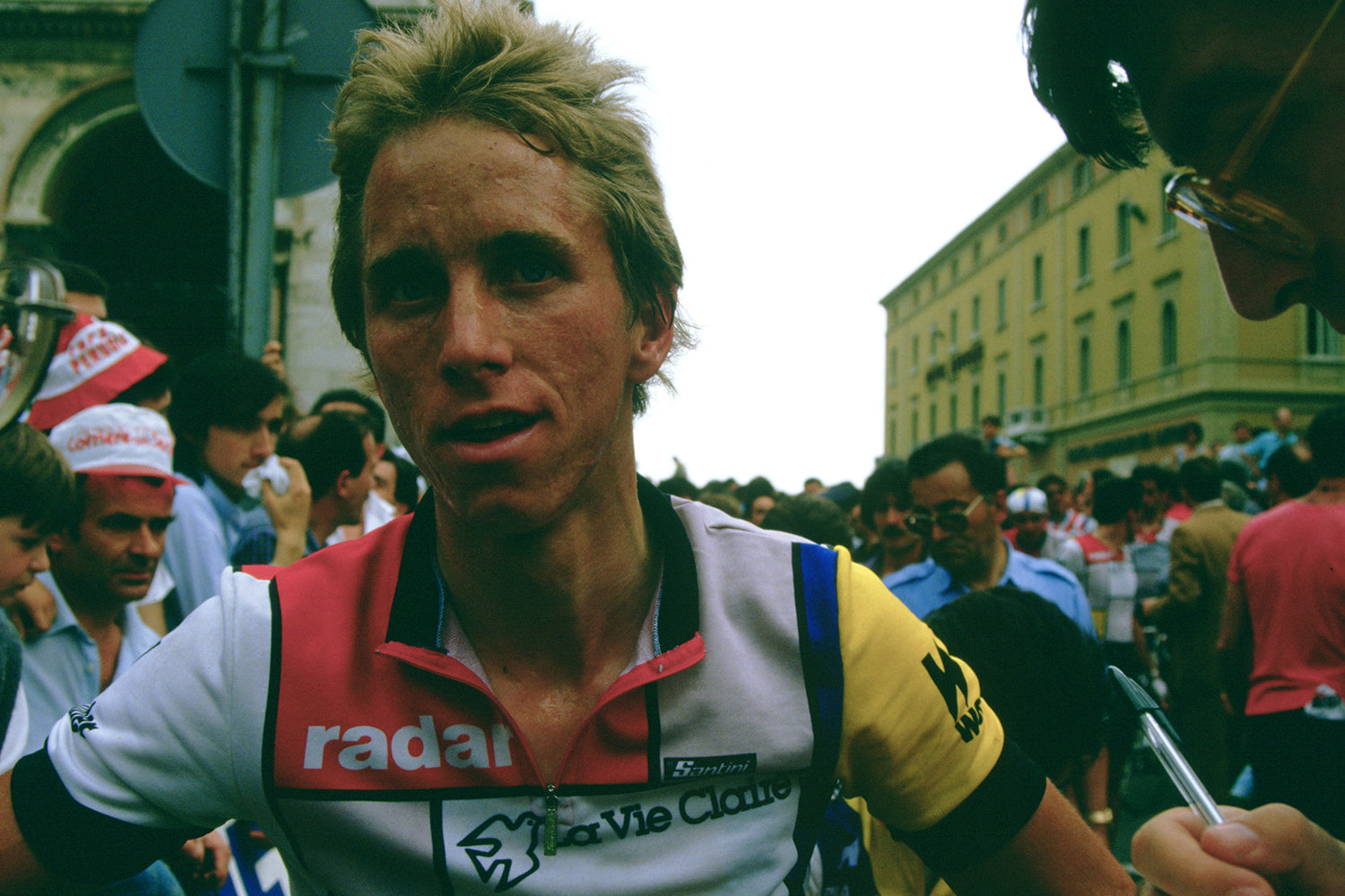 Greg Lemond joined the La Vie Claire team in 1985.