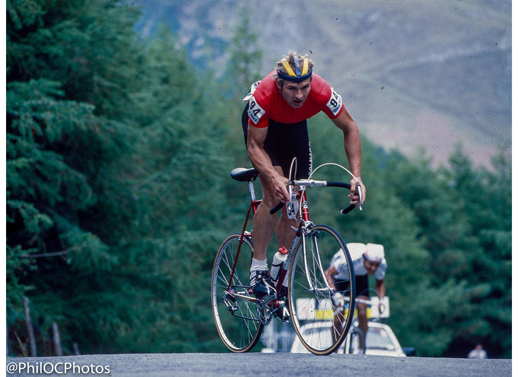 Milk Race 1984 - Devil's Staircase, Wales