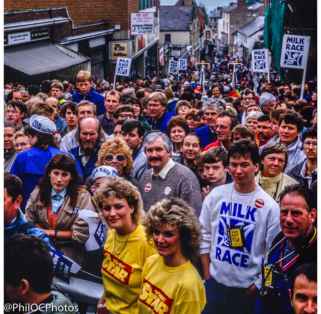 Milk Race 1987 - Great Malvern High Street