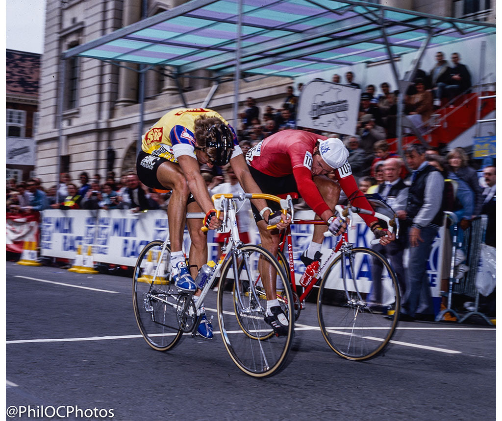 Milk Race 1987 - Malcolm Elliott