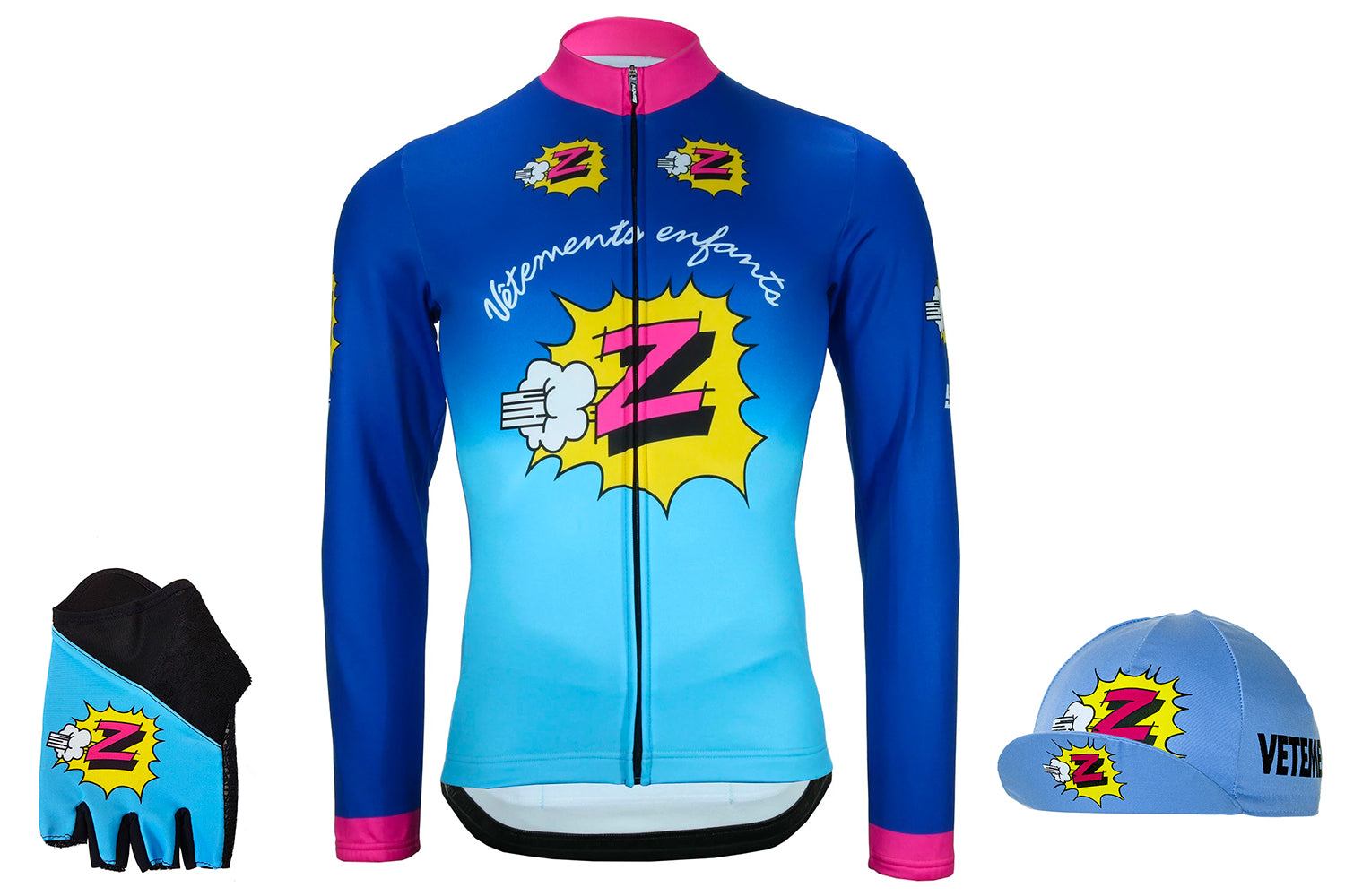 Z Retro team cycle clothing by Santini available at Prendas Ciclismo