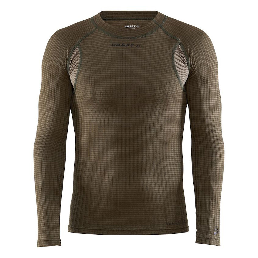 Craft Active Extreme X CN Dark Olive LS Men's Baselayer