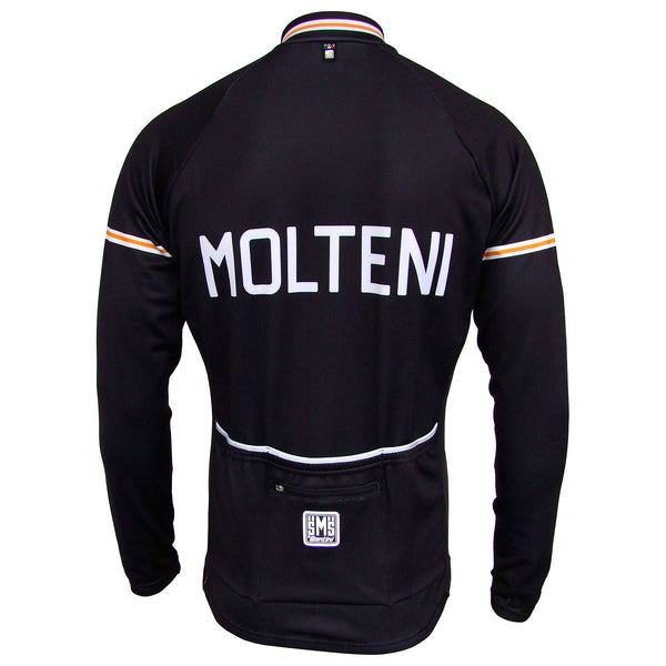 Molteni Retro Jersey - Long Sleeve/Full Zip (75cm)