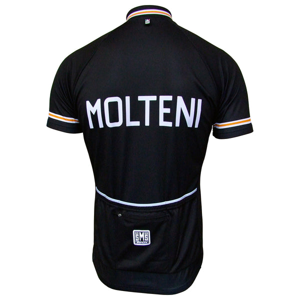 Molteni Retro Full Zip Jersey - Short Sleeve