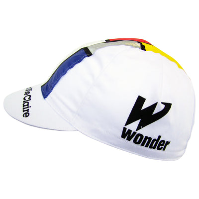 The Wonder Logo Features on Both Sides of the La Vie Claire White Cap