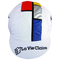 Front View of the La Vie Claire White Cap