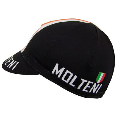 Side View of the Molteni Cap with Italian Scudetto