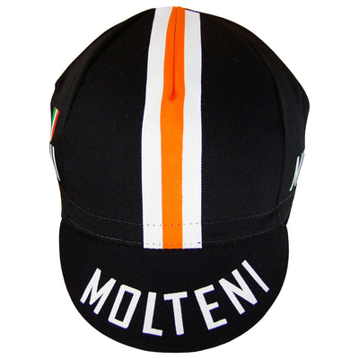 The Orange Stripe Matches the Molteni Jersey