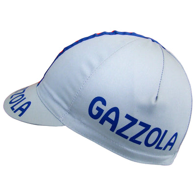 Gazzola Logo Features on Both Sides of the Cap