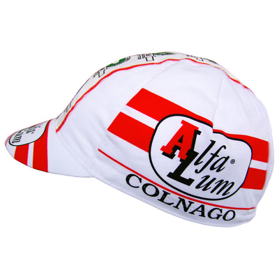 Side View of the Alfa Lum Cotton Cap