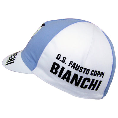 G.S. Fausto Coppi Bianchi Features on the Sides of the Cap
