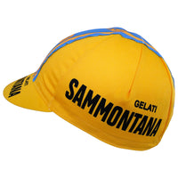 Gelati Sammontana Logos Feature on Both Sides of the Cap
