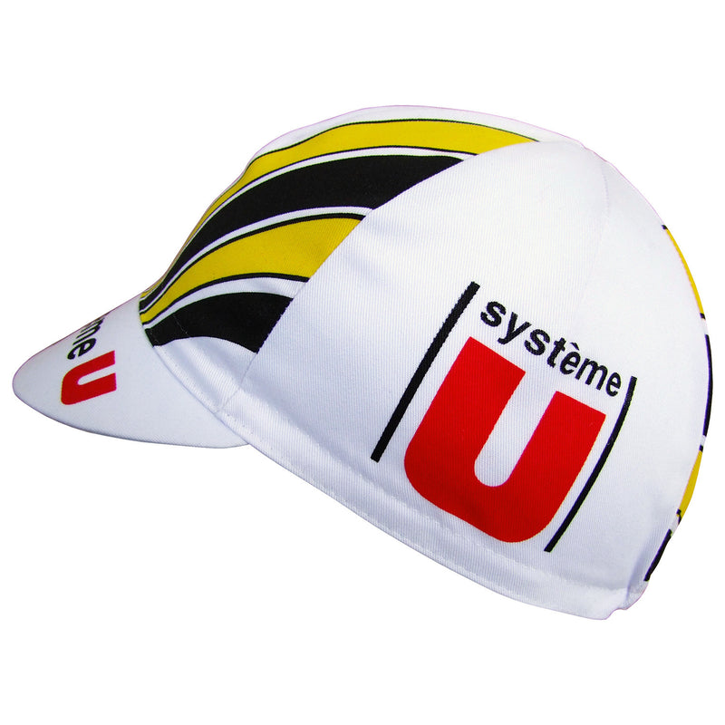 Système U Retro Team Cotton Cycling Cap