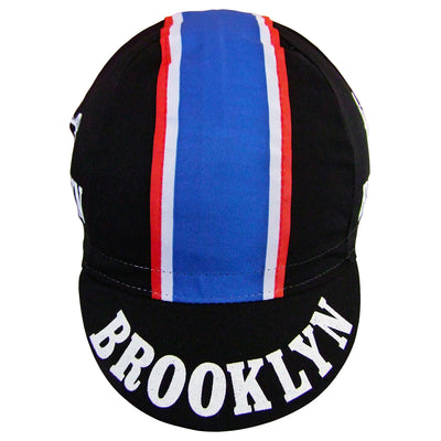 Blue, White and Red Ribbon is Stitched on to the Cap