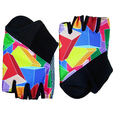 Mapei/Cubes Retro Deluxe Track Mitts/Summer Gloves