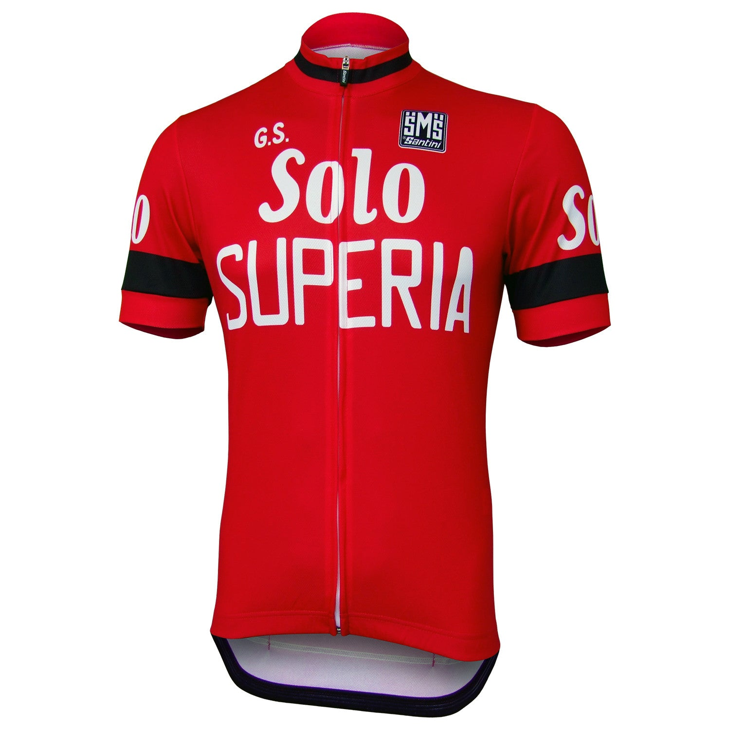 G.S. Solo Superia Retro Cycling Jersey - Short Sleeve - Prendas Ciclismo 88328aaf2