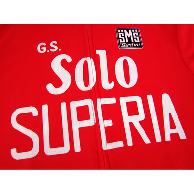 G.S. Solo Superia Retro Jersey. The Solo Superia Logos have been Accurately  Designed By Santini 548870714