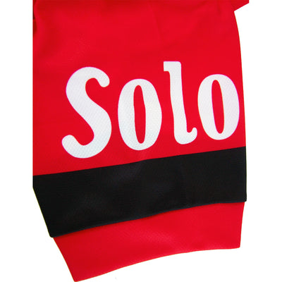 Solo Logo Features on Both Sleeves