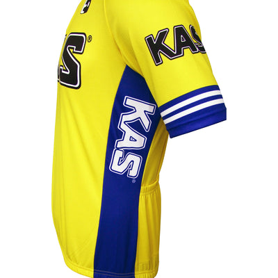KAS Retro Cycling Jersey From The Side