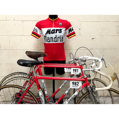 Mars Flandria Retro Short Sleeved Jersey