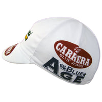 Classic Carrera Logos Feature on Both Sides of the Cap