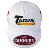Tassoni Logo on the Front of the Cap