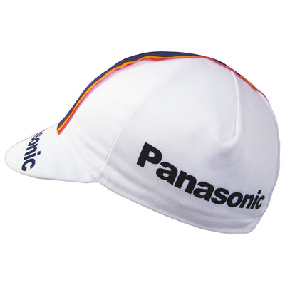 Panasonic Retro Cotton Cycling Cap