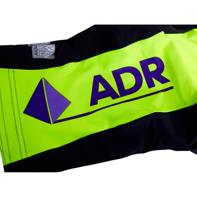 The ADR Logo Features on the Left Leg