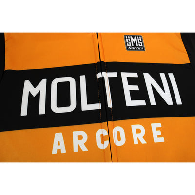The Molteni/Arcore Logo on the Front/Chest