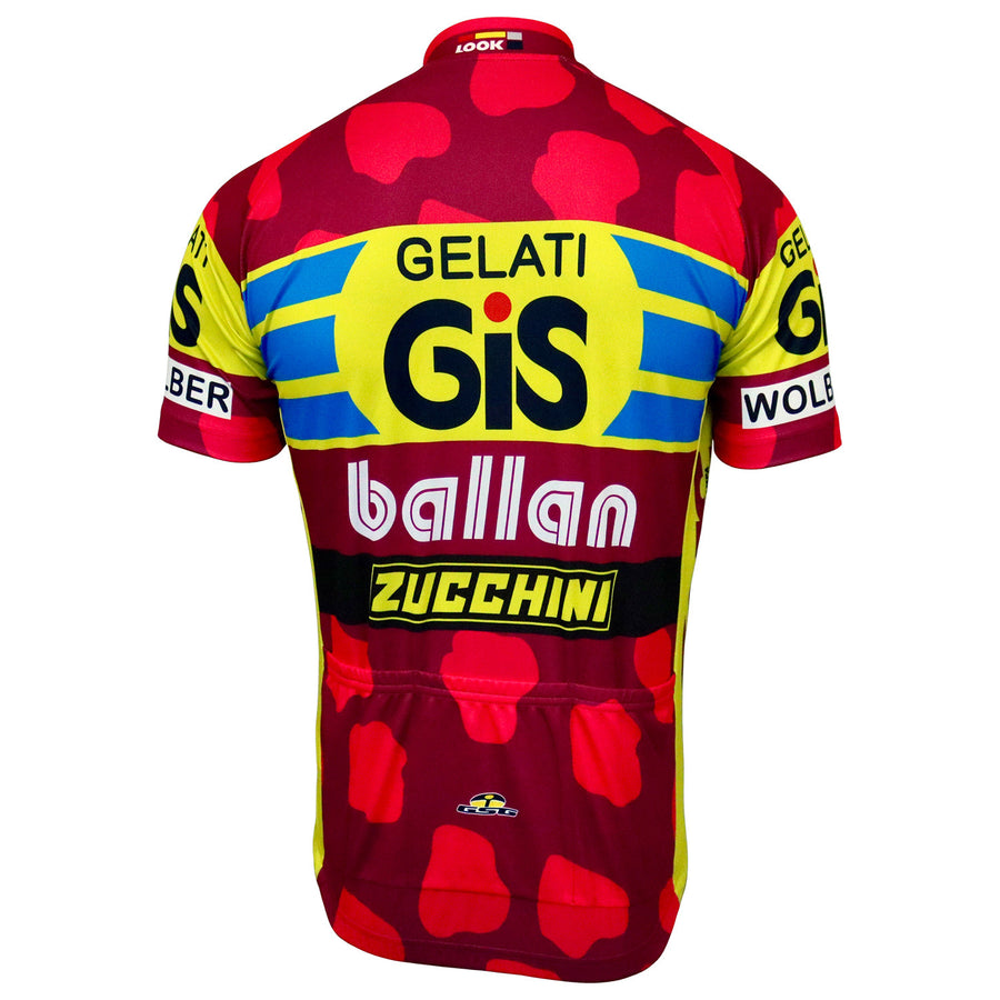 GiS Gelati/Ballan 1991 Retro Jersey - Short Sleeve (Full Zip)