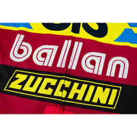 Close-up of the Ballan & Zucchini Logo on the Front