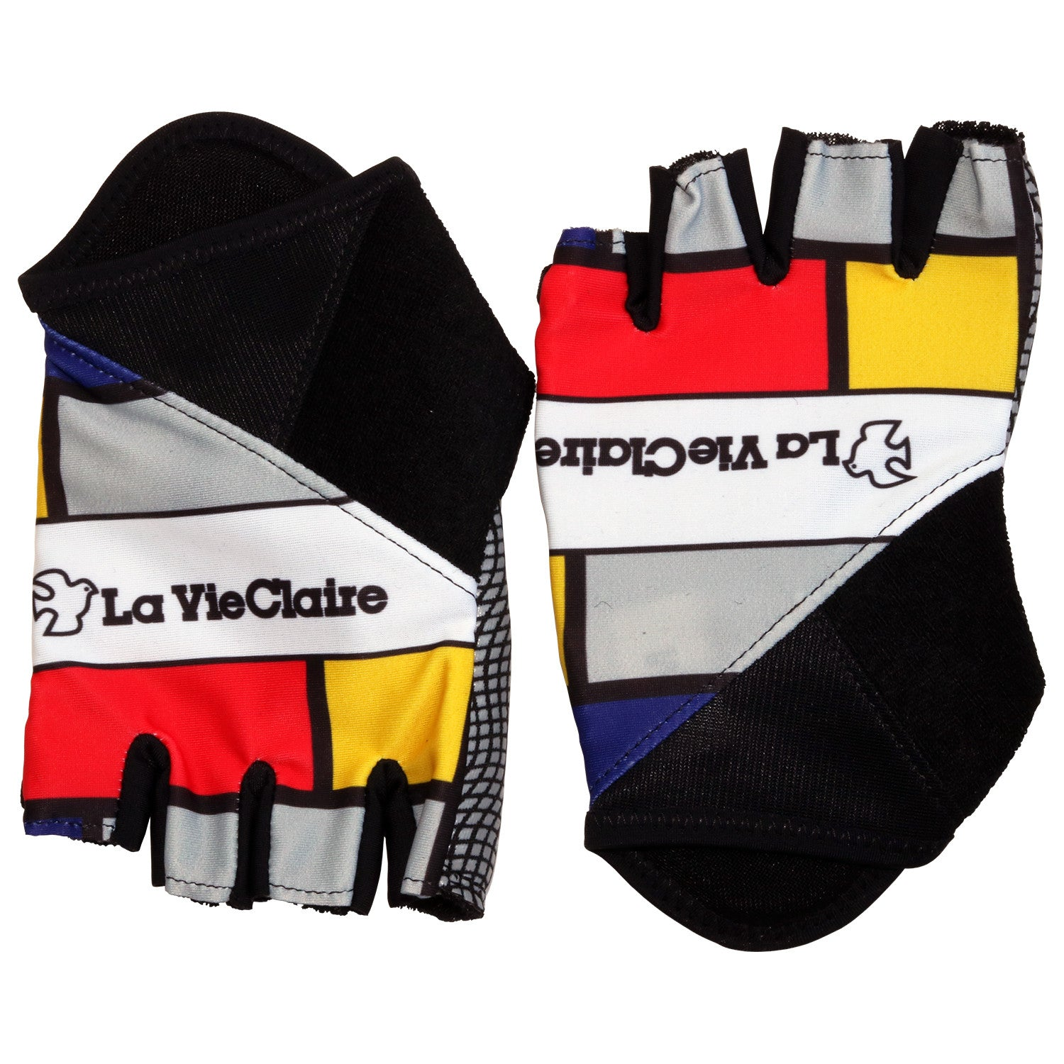 La Vie Claire/Wonder/Radar Retro Track Mitts/Summer Gloves