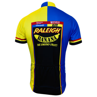 Rear View of the Raleigh Banana Retro Jersey