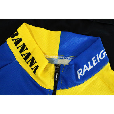 Both Raleigh and Banana Logos Feature on the Collar