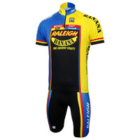 Raleigh Banana Short Sleeve Jersey & Bib Shorts Set