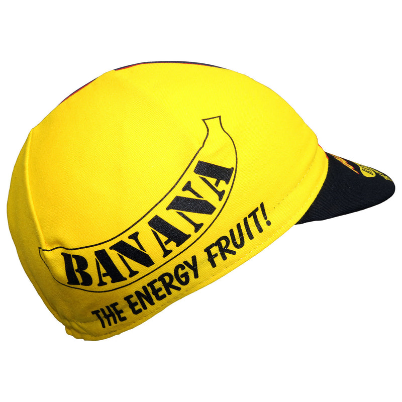 Raleigh Banana Retro Team Cotton Cycling Cap