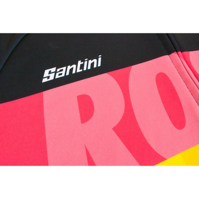 The Grand Tour long sleeve jerseys are hand-made in Italy by Santini.