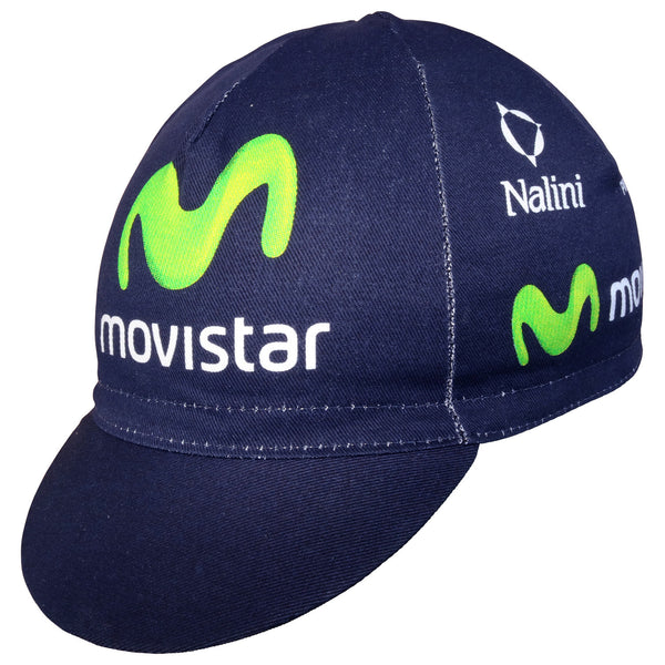 Movistar Pinarello 2013 Cotton Cycling Cap | Hovedbeklædning
