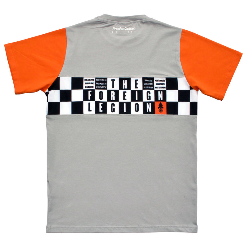 Foreign Legion Grey/Orange T-Shirt