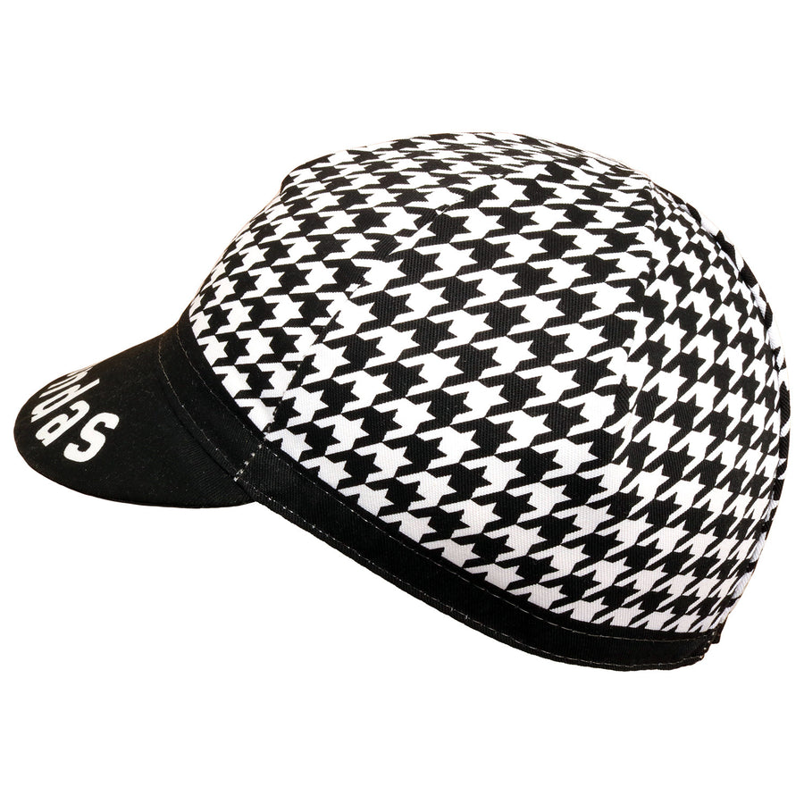 Prendas Houndstooth Cotton Cap