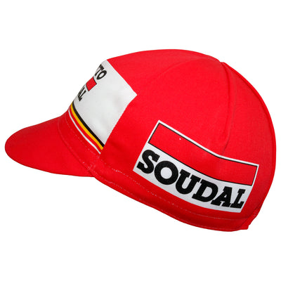 Lotto Soudal 2017 Cotton Cycling Cap