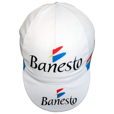 Banesto Team Retro Cotton Cycling Cap