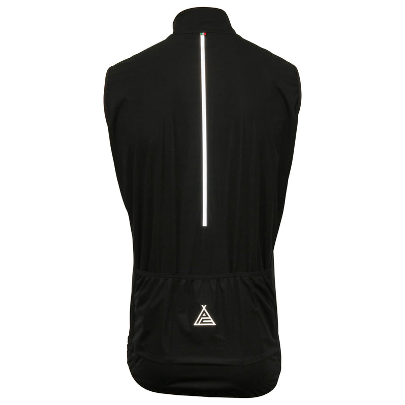 Prendas Ciclismo Black Guard Vest by SANTINI