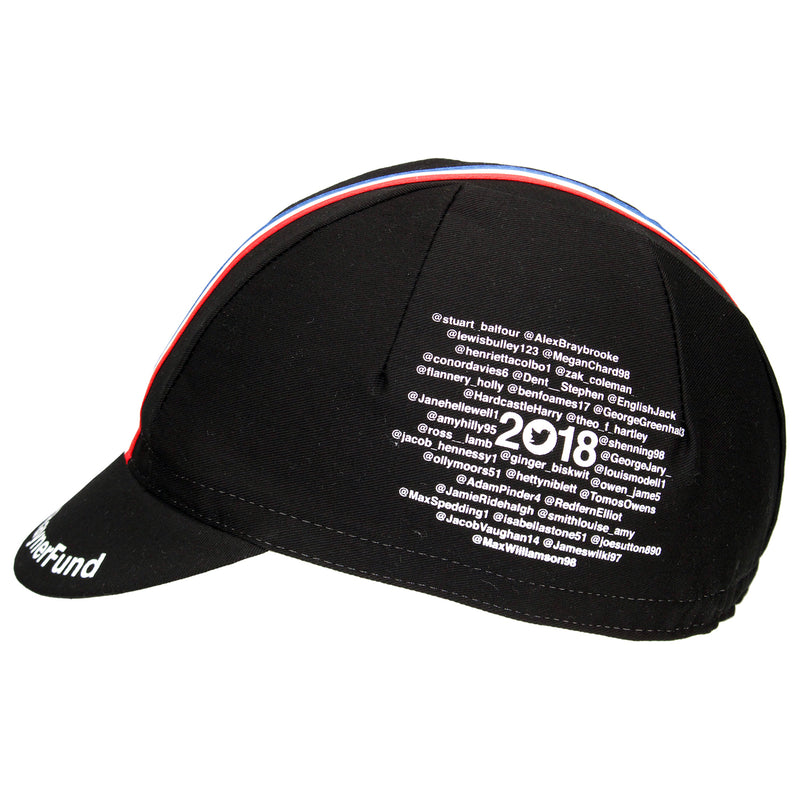 Dave Rayner Fund x Prendas Supporters Cotton Cycling Cap